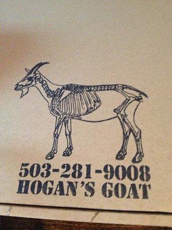 Hogan's Goat Pizza