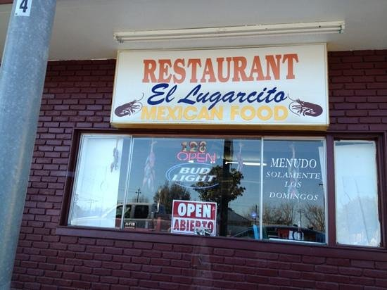 El Lugarcito Restaurant:                                     Outside