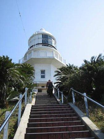 Toi :                   灯台からの眺めが綺麗です。