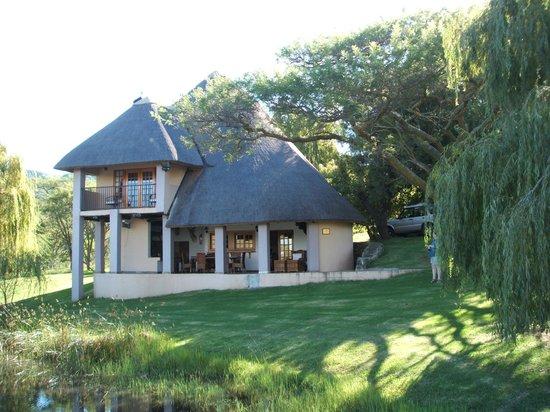 Nxala Ranch:                   The lodge
