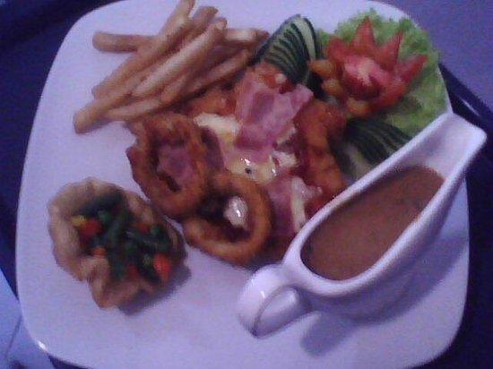 chicken parmis in swish bar & restaurants