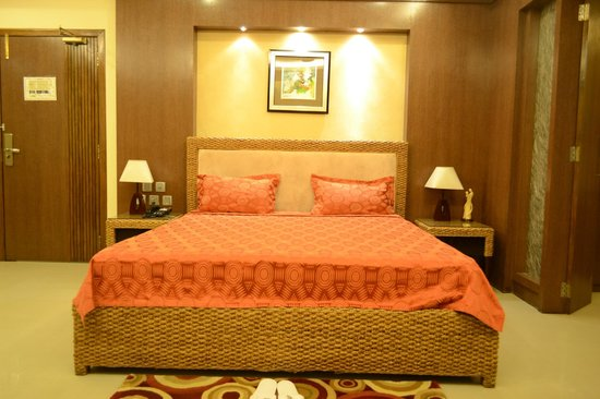 Hotel KRC Palace : king size bed