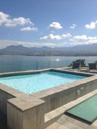 Oceana Palms Luxury Guesthouse:                   Top level with Jacuzzi
