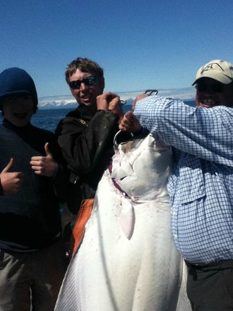 Tower Rock Lodge: Halibut