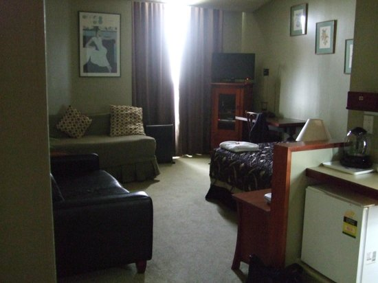Victoria Railway Hotel:                   Comfortable room