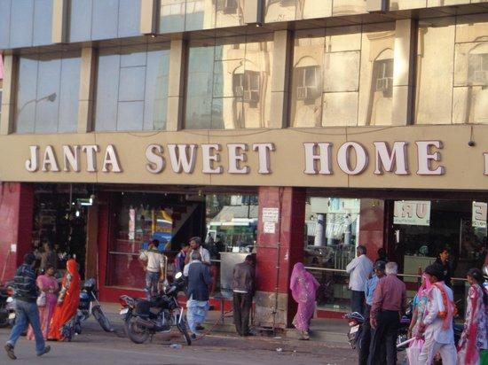 Janta Sweets:                   impressive shopfront