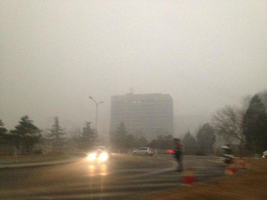 Park Plaza Wangfujing:                   Polluted Beijing