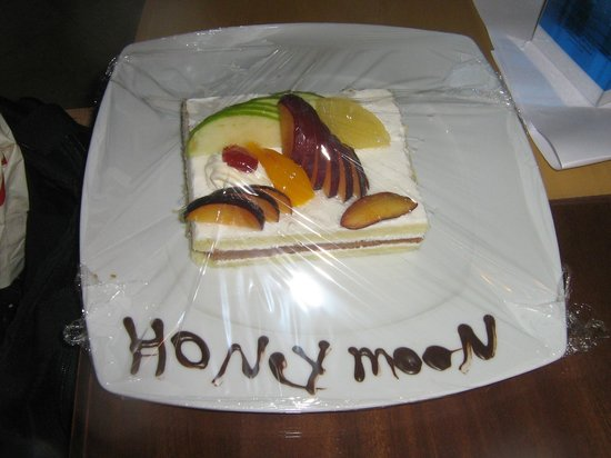 Savoy Sharm El Sheikh:                                     Honey Moon Complimentary Cake