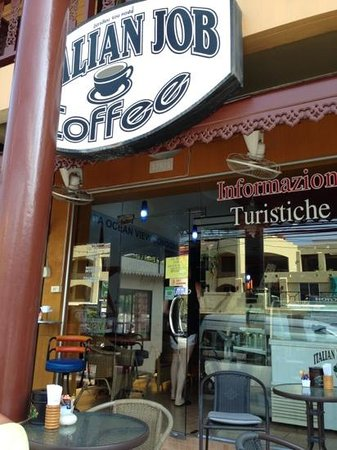 Italian Job Coffee:                   scatto matto
