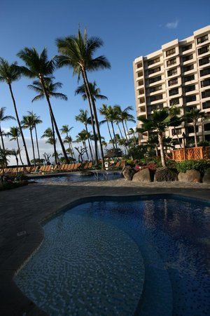 Kaanapali Alii:                   View from the pool