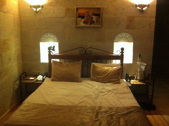 Goreme Inn Hotel:                   Letto