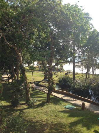 Baobab Beach Resort & Spa:                   View from room