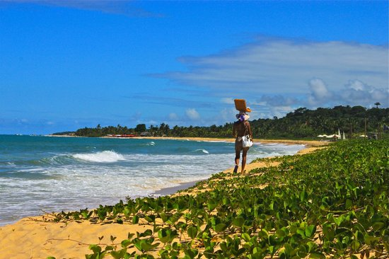 Villas de Trancoso:                   Private beach