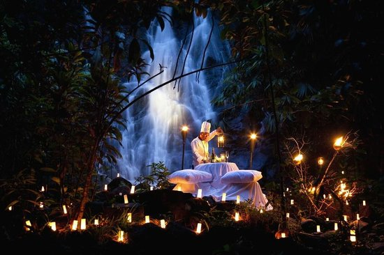 The Sarojin: Waterfall Private Dinner