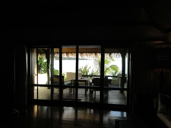 Pacific Resort Aitutaki:                                     View from the room