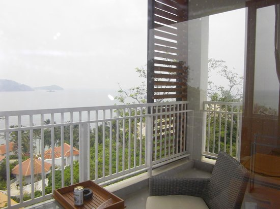Cape Panwa Hotel:                   view from balcany