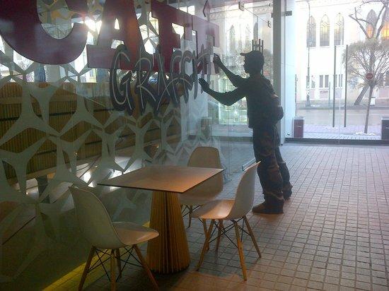 Graffit Gallery Hotel:                                     ROOM 4th floor