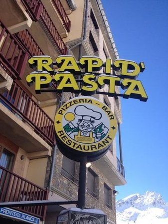 Rapid Pasta:                                     Italian food near the slopes