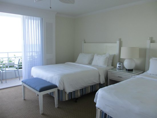 South Seas Island Resort:                   Bedroom with 2 Queen Beds.