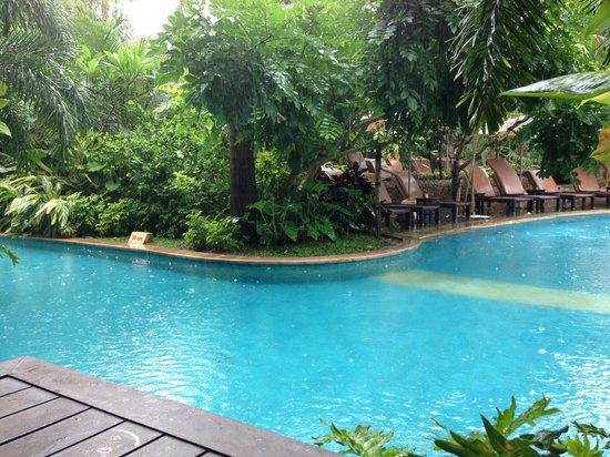 Padma Resort Legian:                                     View from the verandah