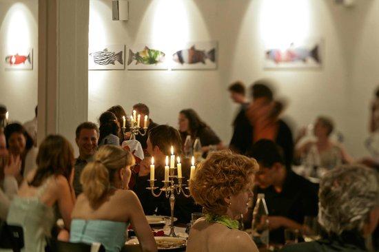 Restaurant Lagerhaus: Stadtsaal mit Fischen