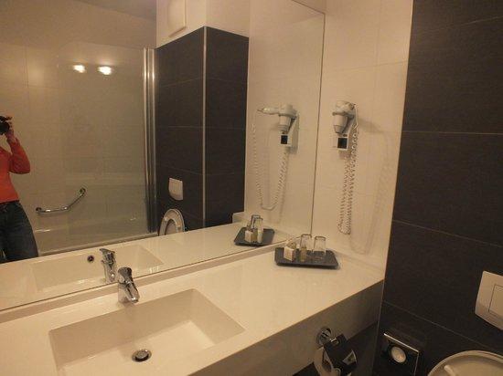 Rainers Hotel Vienna:                   Ванная комната