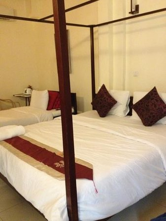 Mekong Imperial Boutique Guesthouse:                   Triple sharing room - ideal for family