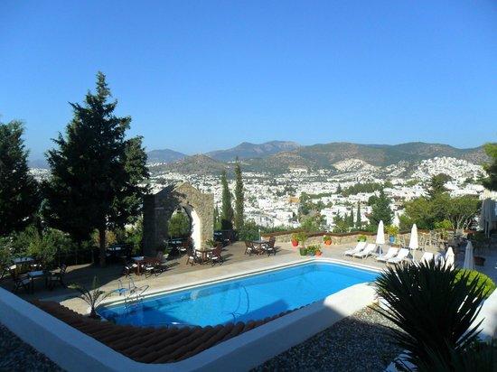 Hotel Manastir:                   vista para Bodrum
