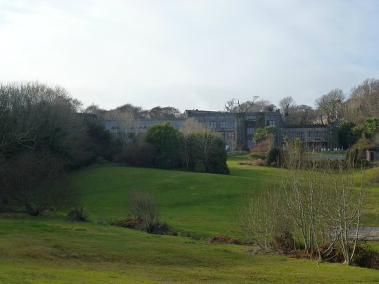 Abbeyglen Castle Hotel:                   The hotel from the grounds