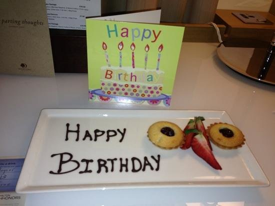 DoubleTree by Hilton Manchester Piccadilly:                   lovely touch