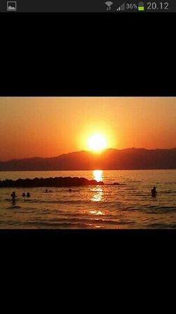 Solnedgang i Agia Marina