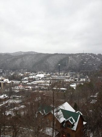 Park Vista - DoubleTree by Hilton Hotel - Gatlinburg:                   view from 4th floor