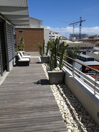 Atlantic Affair Boutique Hotel:                   Balcony on the penthouse