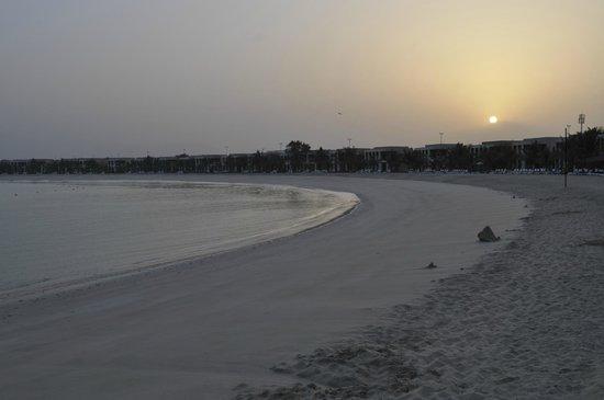 Hilton Ras Al Khaimah Resort & Spa:                   Glimpse of beach area