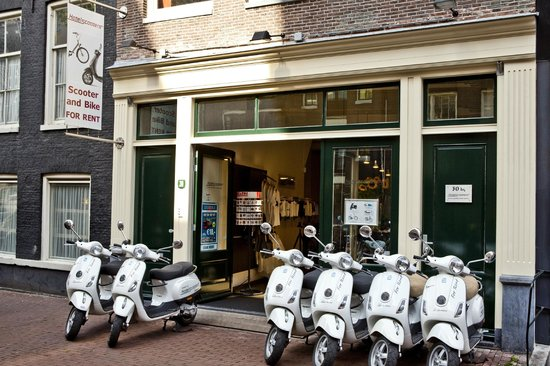 Hotel Scooters : Spuistraat Amsterdam