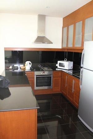 Phunawa Resort:                   Køkkenet
