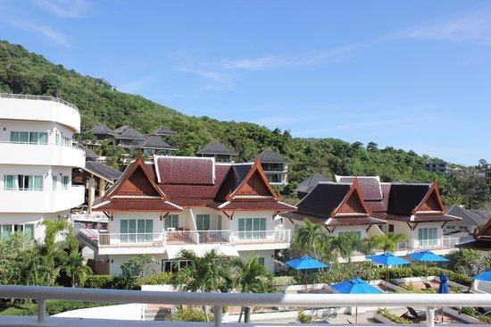 Phunawa Resort:                   Udsigten fra vores altan.