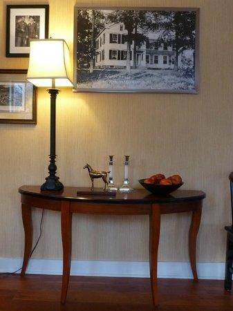 The Millbrook Inn:                   Interior