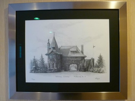 The Millbrook Inn:                   Picture on the wall