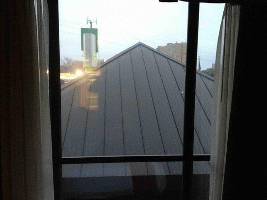 هوليداي إن أوستن - تاون ليك:                   Room with a view...of a roof!                 