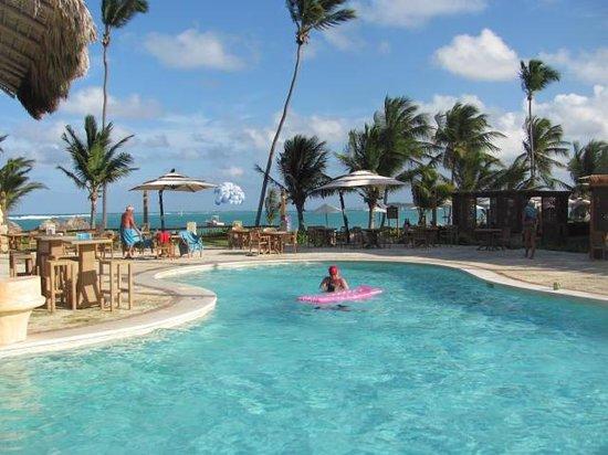 VIK Hotel Cayena Beach:                   Private Pool close to beach