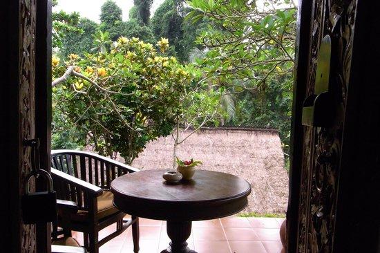 ทแจมปูฮานโฮเต็ลแอนด์สปา:                   A view from our room