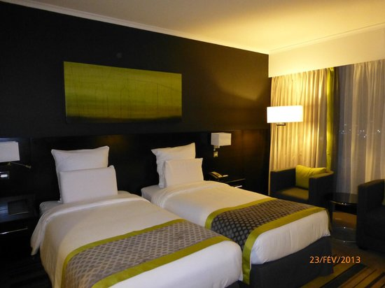 Pullman Dubai Creek City Centre:                   chambre