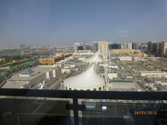 Pullman Dubai Creek City Centre:                   vue