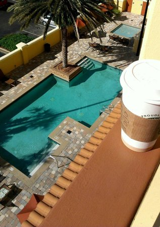 Embassy Suites by Hilton Orlando - International Drive / Convention Center :                                                       Good morning from our room balcony