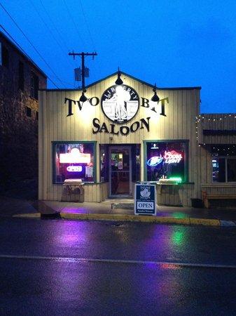 Two Bit Saloon, Gardiner,MT