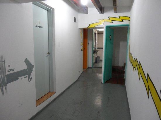 Rock Hostel & Brewery :                   corridor