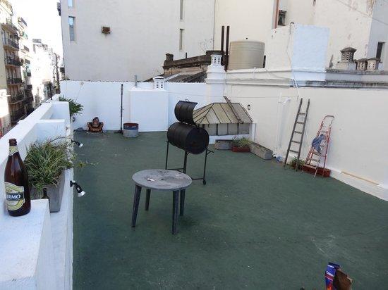 Rock Hostel & Brewery :                   terrace