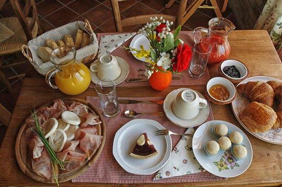 La Lignenga: La colazione