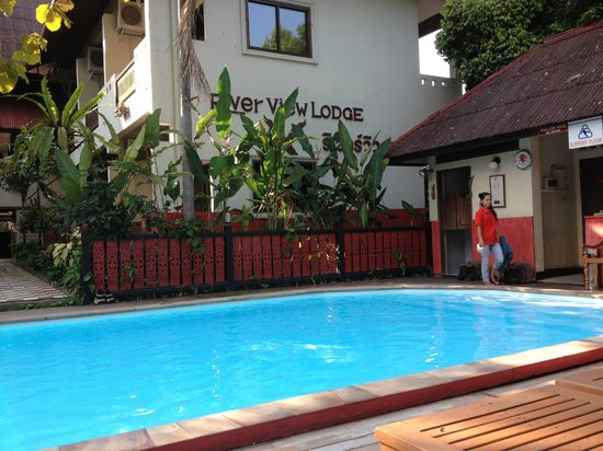 River View Lodge:                   Clean, relaxing pool right by the river